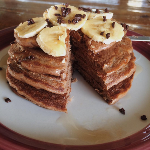 P28 Chocolate Coconut and Nutella Pancakes