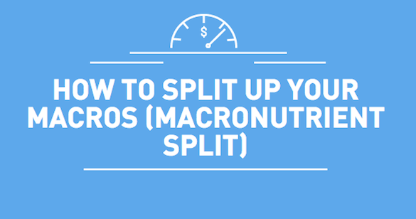how to split up your macros