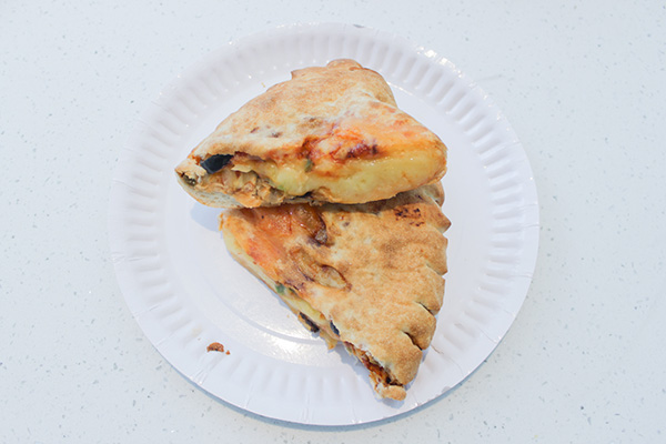 s&r vegetable calzone photo