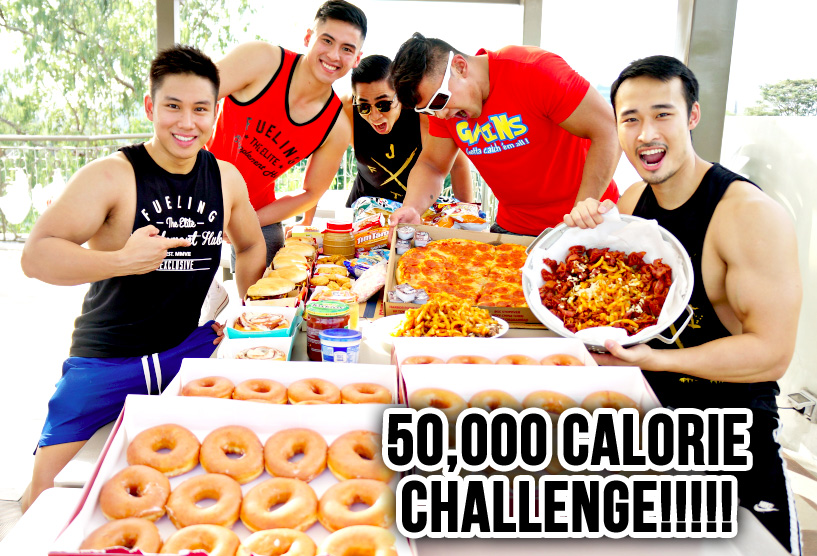 50000 calorie eating challenge